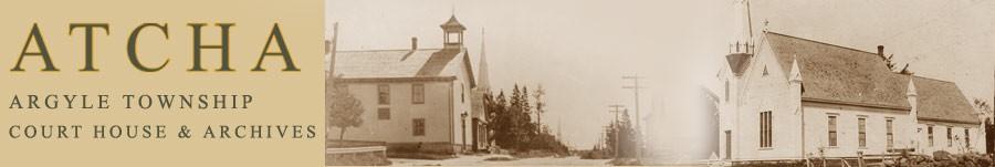 The Argyle Township Court House Archives